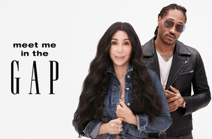 Cher and Future Join Gap's #MeetMeInTheGap Campaign