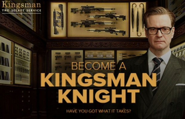 Become a Top Spy with UNIT9's Interactive Experience for the Kingsman Movie