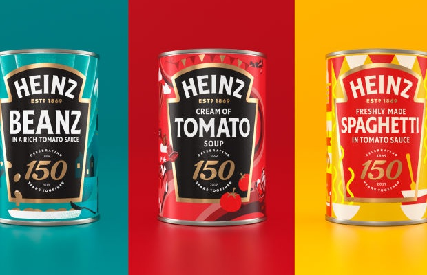 Heinz Redesigns Three Iconic Tins to Celebrate 150 Years