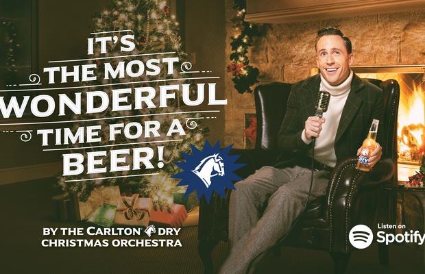 Carlton Dry Takes Firm Aim at Xmas With New Seasonal Song