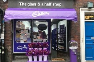 Cadbury Launches One-of-a-Kind Purple Newsagents