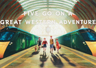 Five Go On A Great Western Adventure