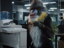 Singing Animated Mandrill Escapes Monotonous Reality in Travel Spot