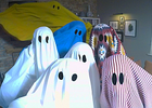 IKEA's Gatecrashing Ghosts Encourage You to Be a 'Maverick with Fabric'