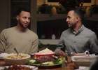 Steph Curry Heads to Anwar Jibawi's for Thanksgiving Dinner for Brita