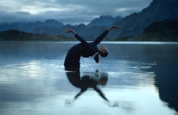Neels Castillon Shoots Aquatic Pyrenees Dance Sequence for Ólafur Arnaulds