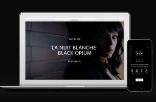 Black Opium Perfume & BETC Take Smartphone Users On Wild Night Out