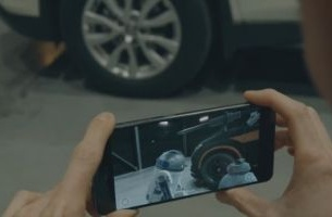 See the Unseen of Star Wars with Nissan's Augmented Reality Showroom App