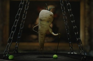 Kevin the Carrot Triumphs Over Evil Parsnip in Aldi's 2018 Christmas Spot