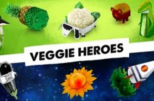 McCann Bucharest Turn Veggies into Superheroes to Inspire Romanian Kids to Eat Healthily