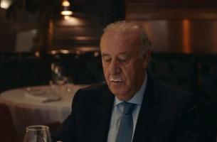 Football Hero Del Bosque Misses His Moustache in Spot for Pescanova