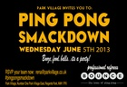 Park Village's Ping Pong Smackdown