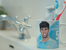 Jonas McQuiggin Teams up with Manchester City to Send an Important Water Message