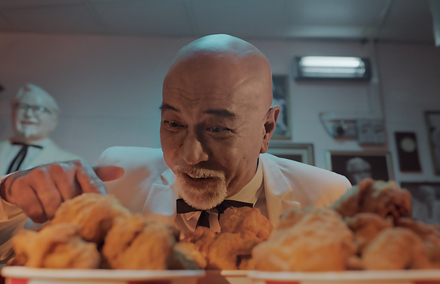 The Colonel Makes a Finger Lickin' Promise in KFC Singapore Spot