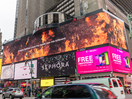NSW Rural Fire Service Thanks Bushfire Firefighters at New York's Times Square