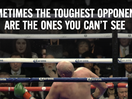 Tyson Fury Takes on His Invisible Opponent in Hard Hitting Ad for Suicide Prevention Charity CALM
