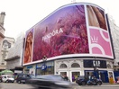 Pandora Takes over Piccadilly Lights to Celebrate New Brand Identity