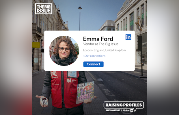 LinkedIn Reconnects Hard Hit Big Issue Vendors with Customers Online