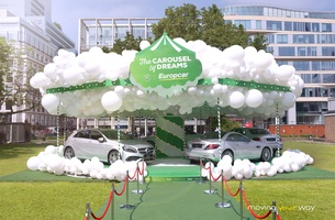 Rosapark & Europcar Present a 'Carousel of Dreams' for Grown-ups in London