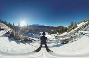 Experience a Ski Jump in 360 Degrees with Cheil's VR Samsung Campaign