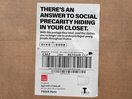 Lacoste Transforms Delivery Slips into Gestures of Solidarity for Those in Need