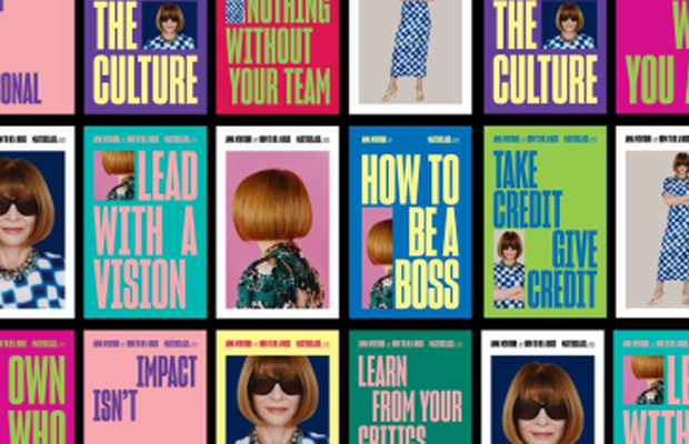 Vogue Boss Anna Wintour Fronts First Campaign for Education Platform MasterClass