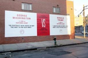 George Washington Takes on Donald Trump
