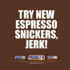 An Apology, From Snickers