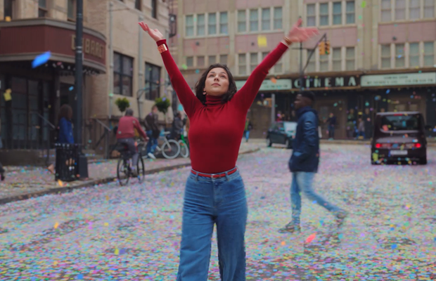Confetti Showers to an Electro-Swing Beat in Colourful Spot for Jewellery Brand Les Georgettes