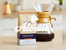 Atomic Wins Union Hand-Roasted Coffee Creative Business