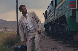 EP+CO's Tough Test Campaign for Tumi Stars Alexander Skarsgard