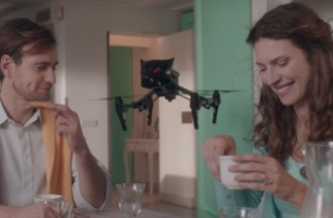 Saatchi & Saatchi Italy introduces DRONEWEILER in Tongue-in-Cheek Campaign