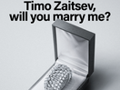 Finnish Woman Pops the Question in Design Retailer Ad... with a Lamp