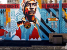Artist Shepard Fairey Constructs Inspiring Voting Rights Mural in Milwaukee