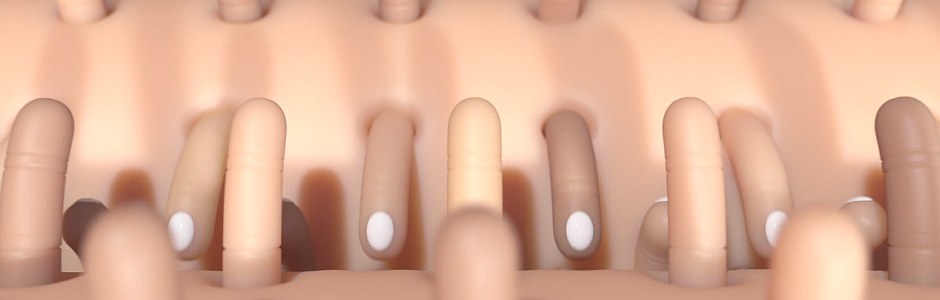 Seed's Morgan Powell Releases Visually Disturbing Finger Machine Film