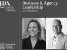 Melinda Geertz and David Brown to Chair 2021 IPA Business & Agency Leadership Residential Course
