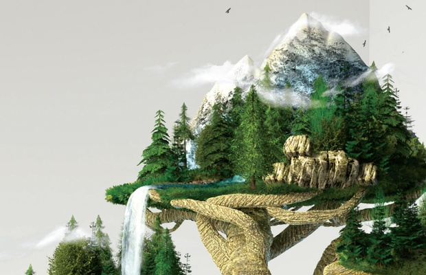 Shadowplay's CGI Bonsai Tree Reimagines Growth for BNP Paribas