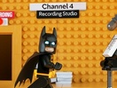 LEGO Batman Barges In to Take Over Channel 4's Continuity Team