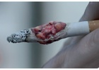 HLA Gets Graphic for Anti-Smoking Ad