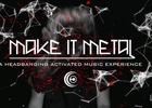 Headbang to Your Webcam to Unlock Music with This Heavy Metal Promo