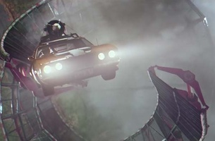 Captain Risky Takes on the Double Helix Jump in Budget Direct's Latest Spot via 303Lowe, Sydney