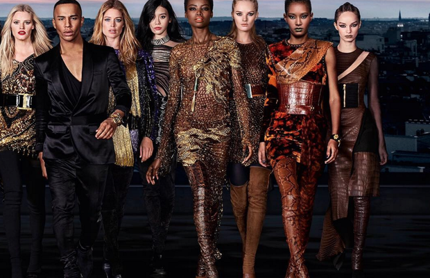 b9f6b30b Olivier Rousteing's Balmain Army grows for diversity-focused L'oreal  campaign. Luti Media Director Collin Tilley Collaborates with Olivier  Rousting & L' ...