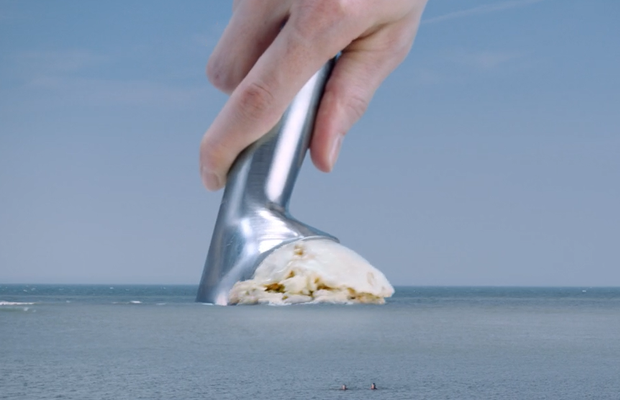 Latest Co-Op Work Uses Two Delightful Swimmers to Promote Compostable Bags