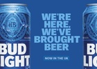 AB InBev Invites Britain to Keep it Bud Light with W+K London