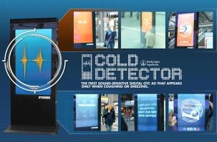 McCann Germany's Digital Billboard Tells You if Your Coming Down with a Cold