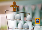 ALDI's Sweet Gingerbread Family Depicts a Slice of Life for The Great British Bake Off
