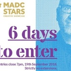 MADC Stars Creative Showcase Announces Submissions Close in Six Days