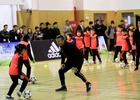 David Beckham Visits Shanghai School as adidas Ambassador