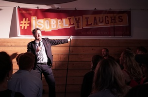 Isobel Puts Pride Centre Stage at Comedy Night