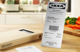 DDB Hamburg Develops a Receipt That Lasts as Long as an IKEA Product